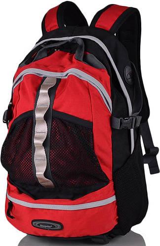 Повседневный городской рюкзак 25 л. Onepolar (Ванполар) W909-red красный