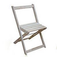 Деревянный стул садовый раскладной
