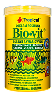 ТРОПИКАЛ БИОВИТ -растительный корм для всех видов аквариумных рыб, 500мл, 100гр.