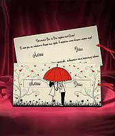 Свадебные пригласительные, оригинальные приглашения на свадьбу с печатью текста