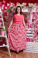 Платье Весеннее(батал)