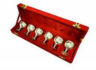 Подарочный набор рюмок 6 шт в красной коробочке