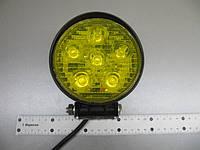 Дополнительная противотуманная фара LED 2205-60 W IP67- желтая