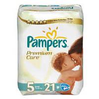 Подгузники Pampers Premium Care Junior 5 (11-25 кг) 21 шт. памперс премиум