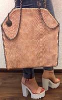Женская сумка Stella McCartney под рептилию
