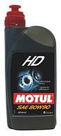 Трансмиссионное масло для МКПП и мостов минеральное Motul HD 80W90 (1л)