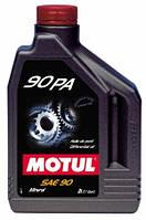 Трансмиссионное масло для МКПП и мостов минеральное Motul 90 PA SAE 90 (2л)