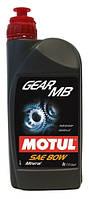 Трансмиссионное масло для МКПП и мостов минеральное Motul Gear MB SAE 80 (1л)