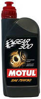 Трансмиссионное масло для МКПП синтетика Motul GEAR 300 SAE 75W90 (1L)