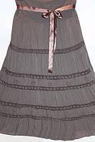 Стильная летняя юбка с гипюром на лето