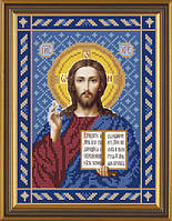 Набор для вышивки бисером Христос Спаситель С 9017
