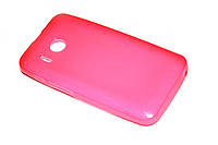 Глянцевый TPU чехол для Huawei Y320 Dual Sim розовый