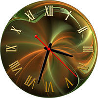 Часы настенные art 19, 30х30 круглые для кухни, гостиной, детской, спальни. Подарок