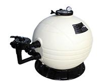 Фильтр из высокопрочного полиэтилена с боковым подключением, серии MFS17(д.425мм)