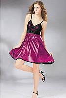 Женское платье сарафан фиолетового цвета B7513