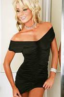 Женское гофрированное платье - трансформер L2010