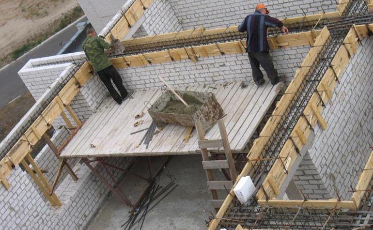 Как сделать опалубку для заливки стены