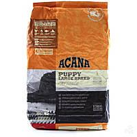 Корм для собак Acana Puppy Large Breed акана для щенков крупных пород 11,4 кг