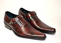 Мужские туфли кожаные казаки