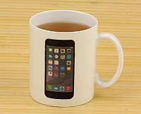 Чашка хамелеон Iphone, чашки интернет магазин