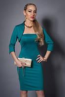 Модное женское платье красивого кроя