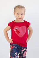 Модная футболка для девочки