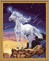 Картина по номерам Идейка Единорог (KH309)