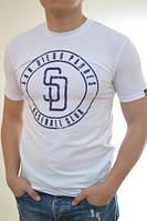 Красивая летняя мужская футболка с рисунком