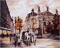 Картина по номерам на холсте Babylon Львов. Оперный театр.