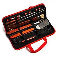 Набор для шашлыка и барбекю в сумке на 11 предметов XTS-C026