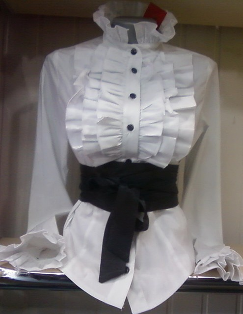 Купить Белую Блузку С Жабо В Челябинске