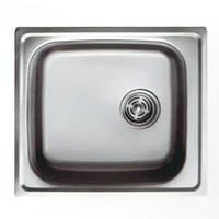 Мойка кухонная Haiba HB 50*47-decor 0.8 мм врезная