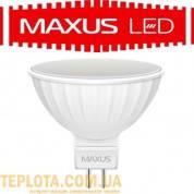 Светодиодная лампа  MAXUS LED MR16 3W 4100K 220V GU5.3 (1-LED-144-01)