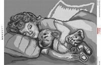Схема для вышивки бисером Детские сны