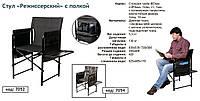 """Кресло """"Карповое"""" с полкой Ø 25"""