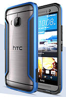 Чехол бампер Nillkin Armor-Border для HTC One M9 Blue