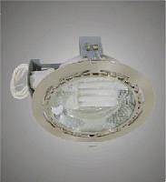 BRILUM 8018E E27 2*13W  Светильник потолочный встраиваемый Хром.