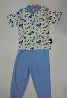Пижама детская для мальчиков с коротким рукавом