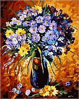Раскраска по номерам Babylon  Цветочный фейерверк
