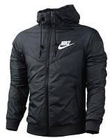 Мужская ветровка Nike ( найк ) черная