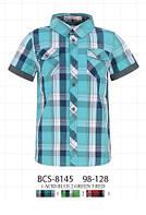 Рубашка для мальчика с коротким рукавом