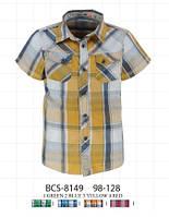 Рубашка для мальчика в клетку