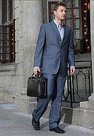 Мужская кожаная сумка. Офисный портфель. Качественная сумка. Интернет магазин сумок. Код: КСД3.