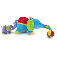 Развивающая игрушка Biba Toys Счастливые слонята: мама и малыш