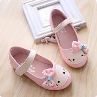 Детские балетки для девочки Hello Kitty