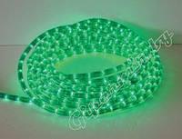 Дюралайт светодиодный зеленый 12 мм 1метр
