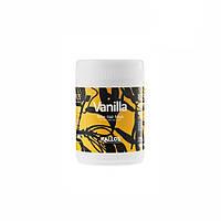 Маска для сухих волос kallos vanilla shine hair mask for dry and dull hair 1000 мл 505943