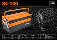 Ящик инструментальный из металла 450мм., NEO 84-100