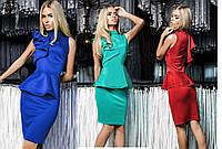"""Женское нарядное платье """"Гучи"""" - 3 цвета!"""