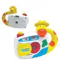 Музыкальная игрушка-калейдоскоп «Фотоаппарат»
